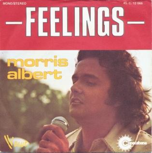 Feelings (Morris Albert song) 1976 single by Morris Albert