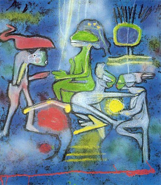 马塔Sebastian Antonio Matta Echaurren(智利1912-美国2002)作品集1 - 刘懿工作室 - 刘懿工作室 YI LIU STUDIO