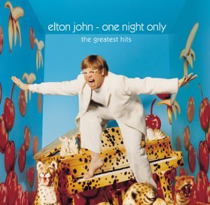 Elton John One Night Only – The Greatest Hits artwork