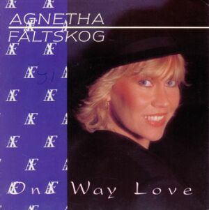 Cover image of song One Way Love by Agnetha Fältskog