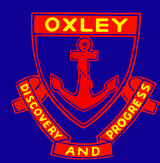 Oxley crest. Source: http://www.oxley-h.schools.nsw.edu.au (Oxley website)