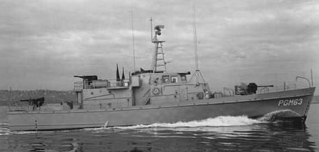 York Ac Units >> PGM-39-class gunboat - Wikipedia