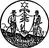 Official seal of Albion, Maine