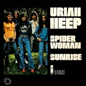 Spider Woman (song) 1972 single by the British rock band Uriah Heep