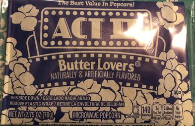 Act II (popcorn) - Wikipedia