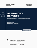 <i>Astronomy Reports</i> Academic journal