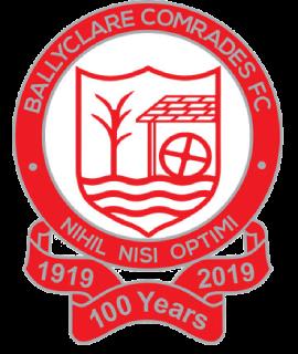 Ballyclare Comrades F.C. Association football club in Northern Ireland