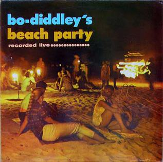 Bo Diddley's Beach Party artwork