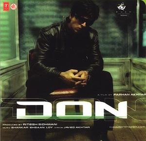 <i>Don</i> (soundtrack) 2006 soundtrack album by Shankar-Ehsaan-Loy