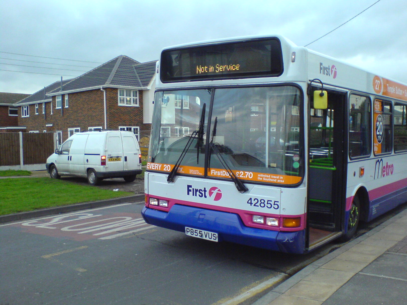 first buses 20 essex