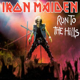 Titelbild des Gesangs Run to the Hills von Iron Maiden