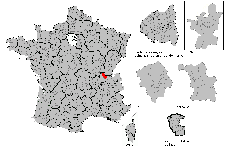 A4 Map Of France.File Map Of France Showing Ain Departement 1st Legislative
