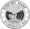 Official seal of Rumford, Maine
