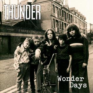 <i>Wonder Days</i> 2015 studio album by Thunder