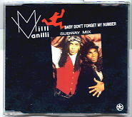Baby Dont Forget My Number Song by Milli Vanilli
