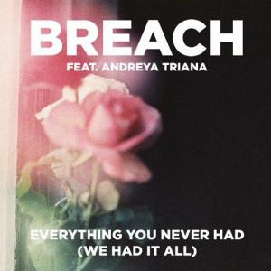 Breach featuring Andreya Triana — Everything You Never Had (We Had It All) (studio acapella)