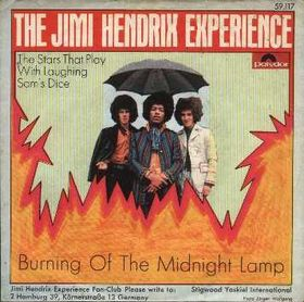 Burning of the Midnight Lamp 1967 single by the Jimi Hendrix Experience
