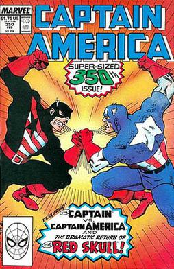 Captain America #350 (Feb. 1989). Rogers as &q...