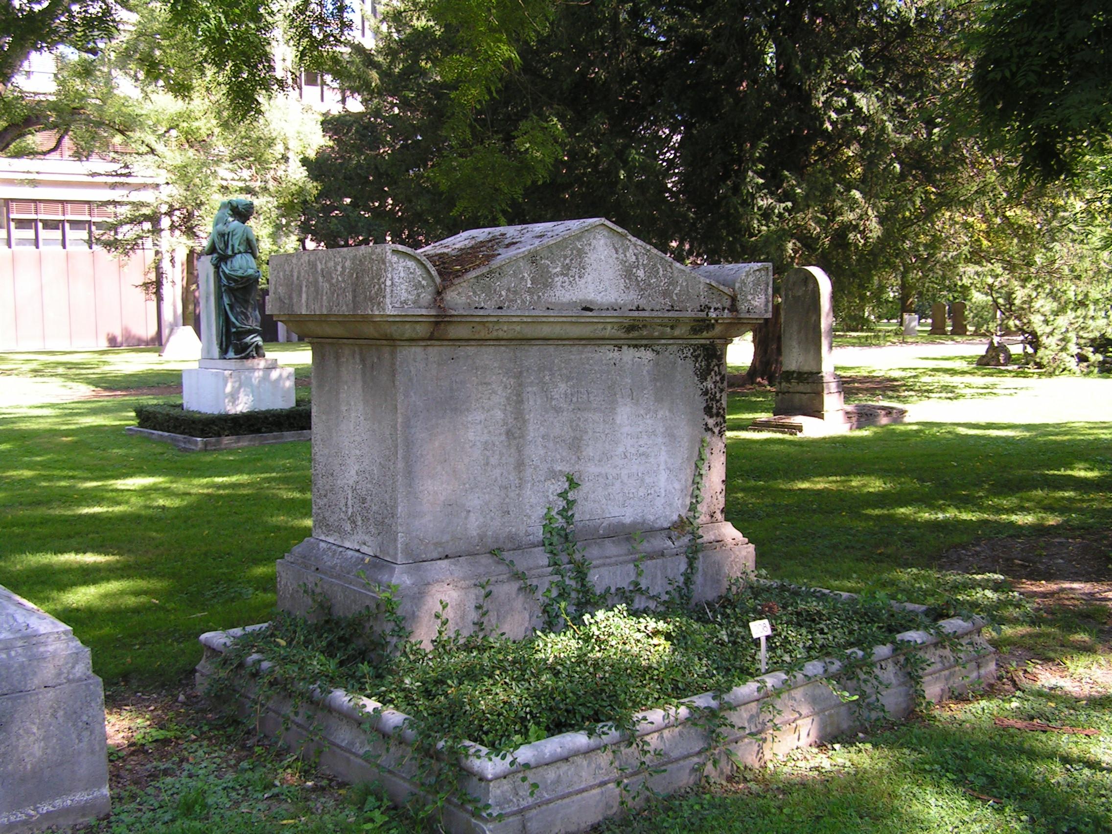 Humphry davy wikipedia davys grave at cimetire plainpalais in geneva spiritdancerdesigns Choice Image