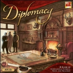 Picture of a game: Diplomacy