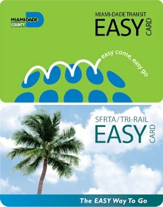 Easy Card smart card used in Florida, USA