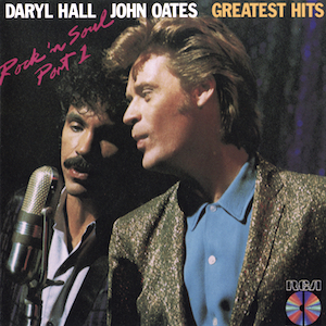 <i>Rock n Soul Part 1</i> 1983 greatest hits album by Hall & Oates
