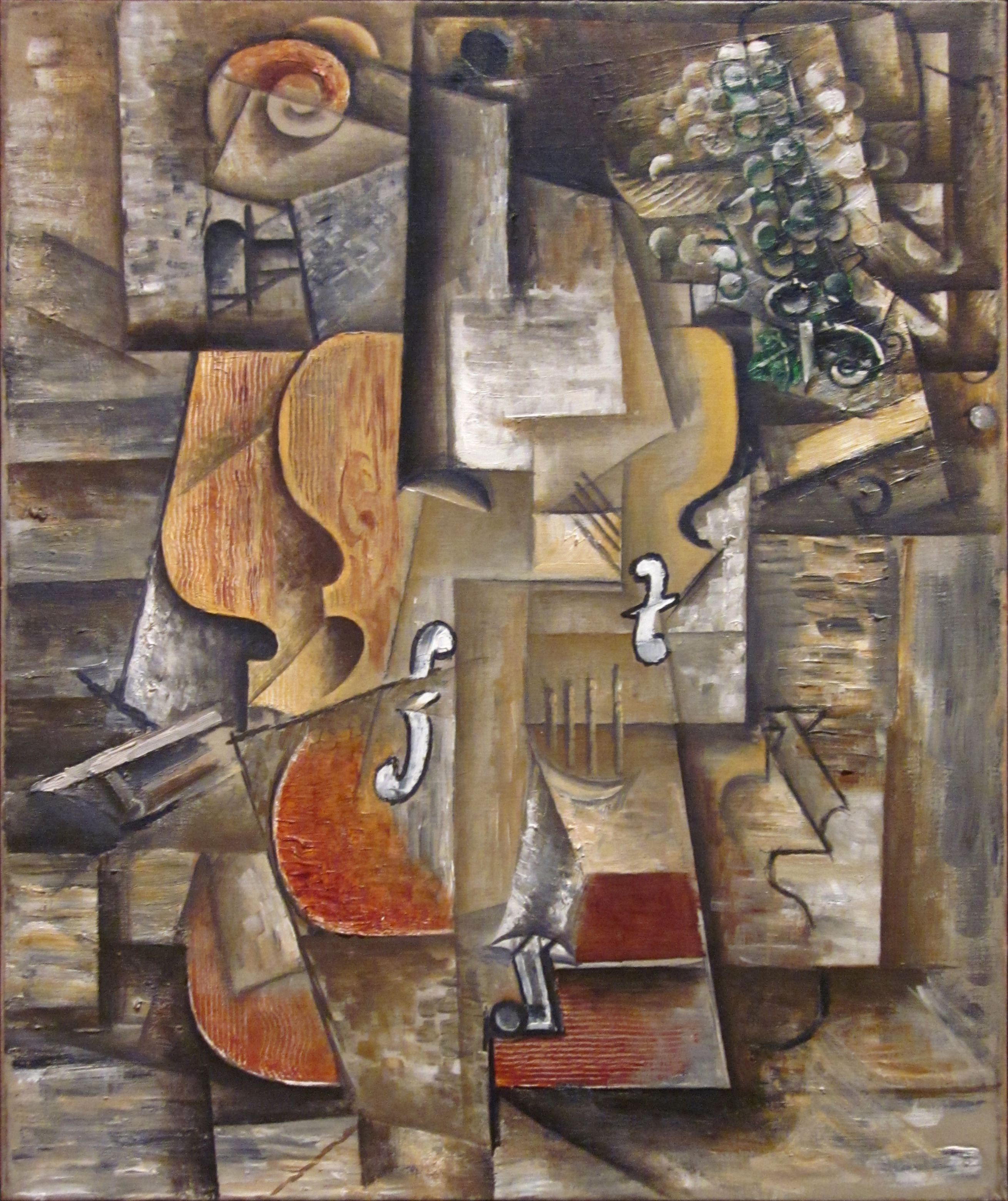 file pablo picasso 1912 violin and grapes oil on canvas 61 x 50 8 cm museum of modern art. Black Bedroom Furniture Sets. Home Design Ideas