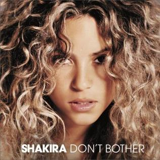 Dont Bother 2005 song by Shakira