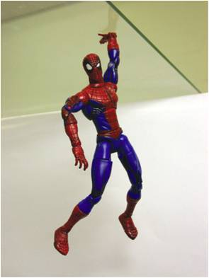 """Spider-Man test"" of gecko tape Test of gecko tape.jpg"