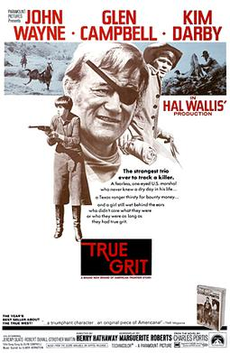 True Grit (1969 film) (Photo credit: Wikipedia)