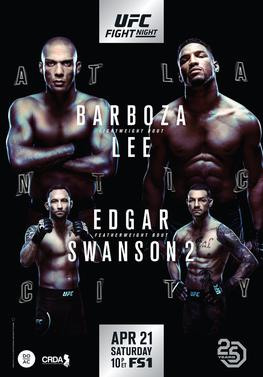 UFC Fight Night Barboza vs. Lee event poster.jpg