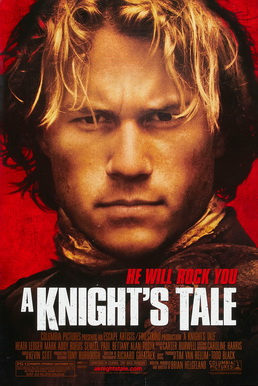 As William Thatcher in A Knight's Tale
