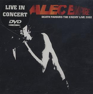 <i>Death Favours the Enemy: Live 2002</i> 2002 video by Alec Empire