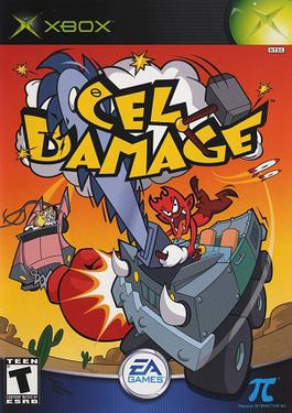 Picture of a game: Cel Damage Overdrive