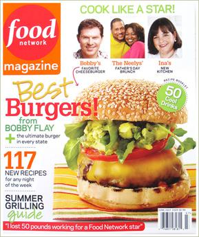 Food Network Magazine Marchcover