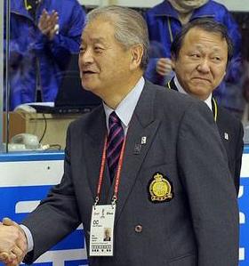 Isao Kataoka Japanese ice hockey administrator