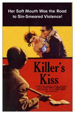 1955 Killer/'s Kiss Stanley Kubrick Movie poster print 2