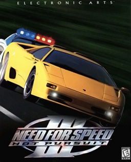 Hot Pursuit's Windows and United States cover art.