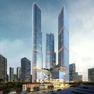 The One (Colombo) Mixed-use tower complex in Sri Lanka