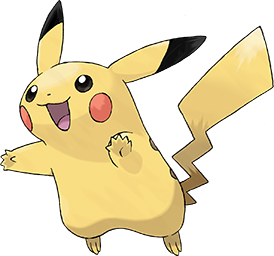 Pikachu Pokémon species and the mascot of the Pokémon franchise