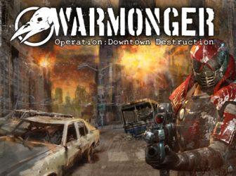 Logo reklamowe gry Warmonger