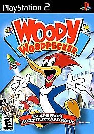 woody woodpecker escape from buzz buzzard park ps2