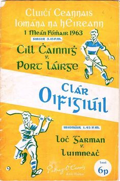 1963 All-Ireland hurling final programme.jpg