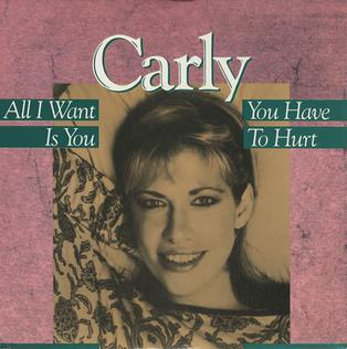 All I Want Is You (Carly Simon song) 1987 single by Carly Simon