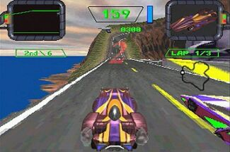 Crash 'n Burn, the system's first bundled title Crash 'n Burn (3DO game - screenshot).jpg