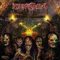 <i>As Blood Rains from the Sky, We Walk the Path of Endless Fire</i> album by Fleshcrawl
