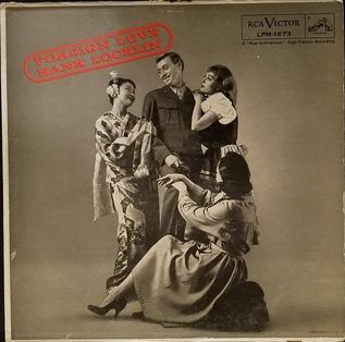<i>Foreign Love</i> 1958 studio album by Hank Locklin