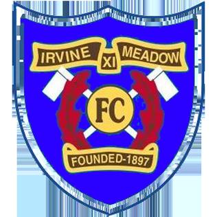 Irvine Meadow XI F.C. association football club in North Ayrshire, Scotland, UK