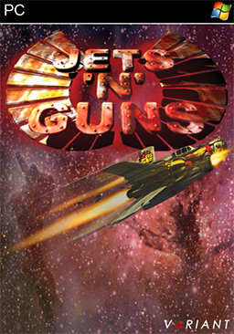 """Jets'n'Guns"" Cover Art"