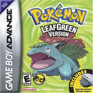<i>Pokémon FireRed</i> and <i>LeafGreen</i> 2004 video game